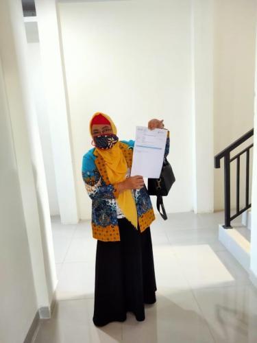 Kepala Madrasah mengikuti Kegiatan vaksin