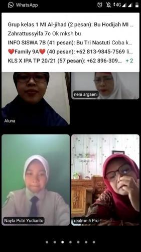 Pemilihan OSIS - MPK via zoom meeting